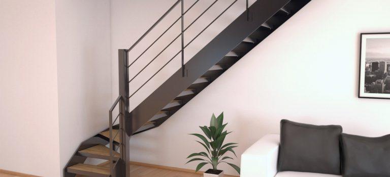 Aménager un escalier pour gagner de la place