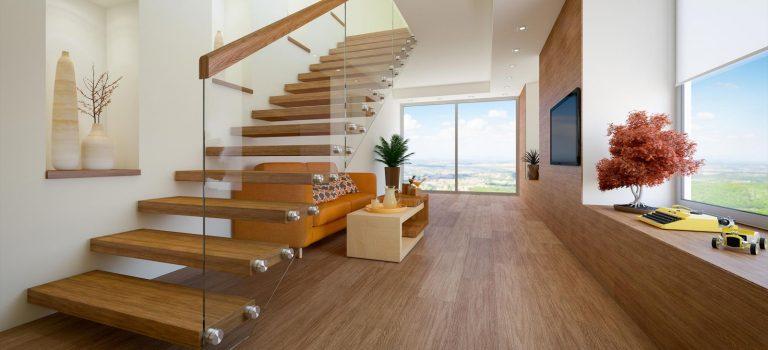 Des escaliers originaux pour la maison