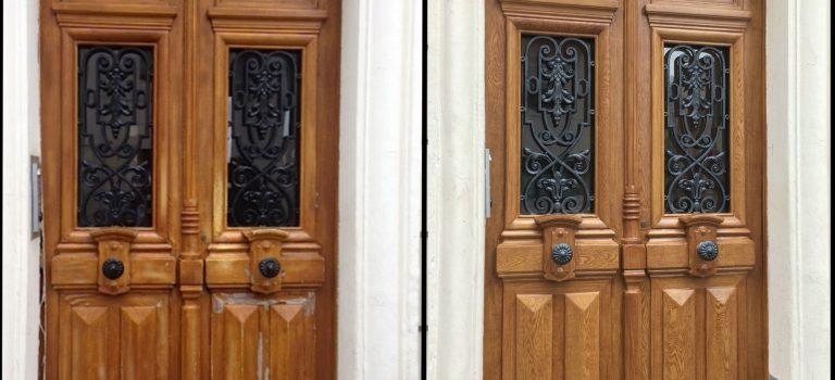 Comment rénover sa porte d'entrée en bois ?